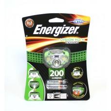 Фонарь налобный Energizer ENR Headlight Vision HD + (3xAAA, 200лм)