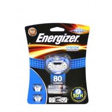 Фонарь налобный Energizer ENR Headlight Vision (3xAAA, 80лм)