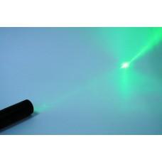 Лазерная указка аккумуляторная (цвет зеленый)