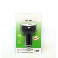 Вольтметр-термометр VST-706