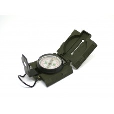 Компас милитари стрелочный жидкостной с измерительным инструментом и подсветкой L45-8A