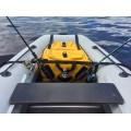 """Носовая сумка-рундук """" iVLER """"для лодок ПВХ со стаканами для спиннинга большая"""