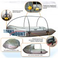 Каркасный тент TransMount для лодок ПВХ