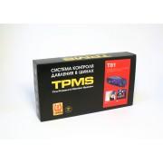 Система контроля давления в шинах TPMS T81-TS01 (монитор + 4 внутренних датчика)