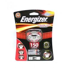 Фонарь налобный Energizer ENR Headlight Vision HD (3xAAA, 150лм)