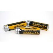 Аккумулятор для фонаря LI-ion 3.7V 6800mAh тип 18650