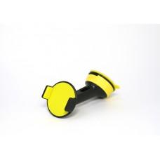Держатель на стекло черно-желтый Imount