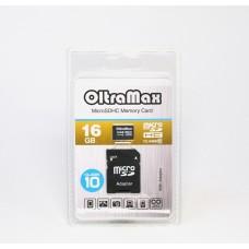 Карта памяти microSDHC OLTRAMAX 16Gb Class 10